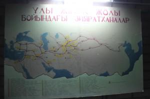 Germany, Poland, Lithuania, Letvia, Russia, Kazakhstan, Kyrgyzstan