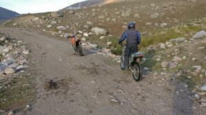 Motoradfahren Kirgistan